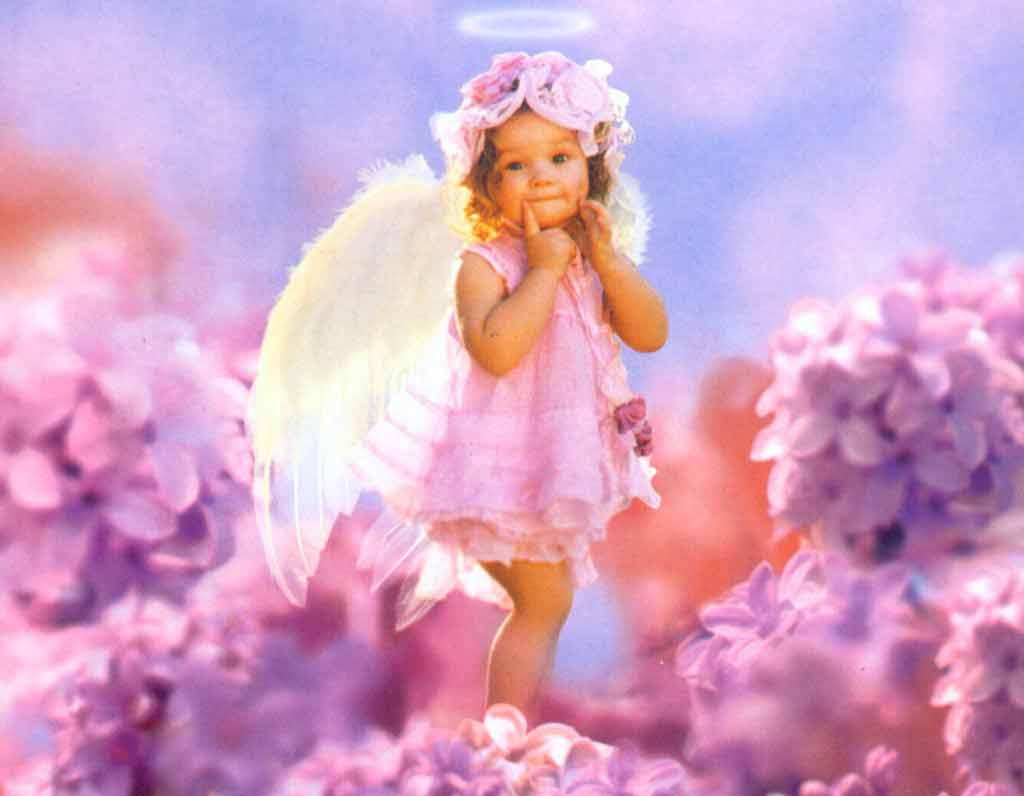 Anges dans fond ecran ange bebe 2u9gbxar